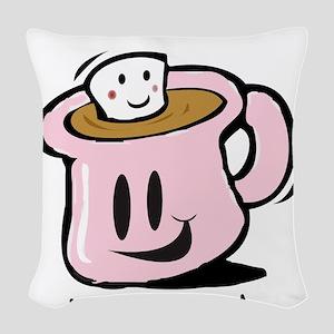 Cocoa Woven Throw Pillow