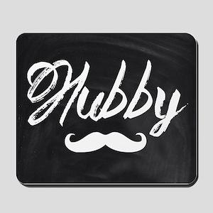 Mustache hubby Mousepad