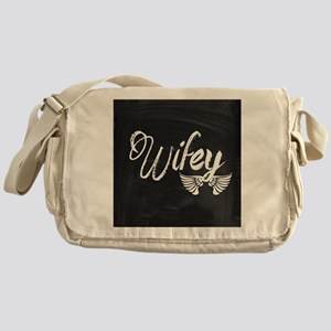 Vintage Wifey Messenger Bag