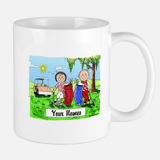 Cute Personalized golf Mug