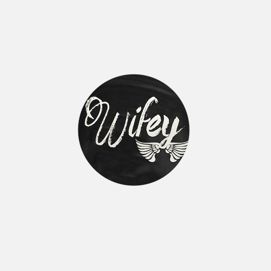 Vintage Wifey Mini Button (10 pack)