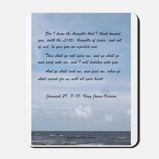 Jeremiah 29 Promise Mousepad