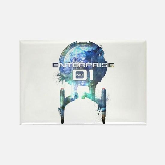 Cosmic Enterprise NX-01 Rectangle Magnet
