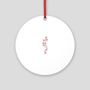 JAPANESE CHERRY BLOSSOM Ornament (Round)