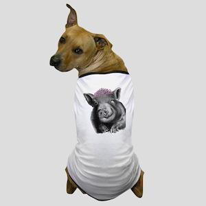Princess lucy the wonder pig Dog T-Shirt