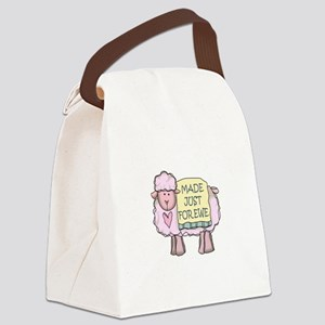 Made Just Forewe Canvas Lunch Bag