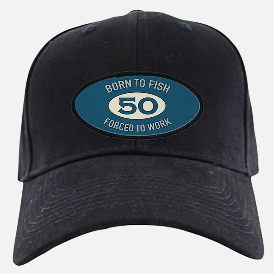 50th Birthday Fishing Baseball Hat