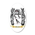 Jeanon 20x12 Oval Wall Decal