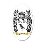Jeannin 20x12 Oval Wall Decal