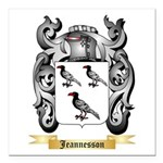 Jeannesson Square Car Magnet 3