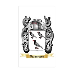 Jeannesson Sticker (Rectangle)