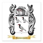 Jeannequin Square Car Magnet 3