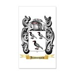 Jeannequin 35x21 Wall Decal
