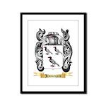 Jeannequin Framed Panel Print