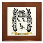 Jeannenet Framed Tile