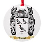 Jeannel Round Ornament