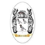 Jeannaud Sticker (Oval 50 pk)