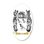 Jeannaud 20x12 Oval Wall Decal