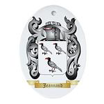 Jeannaud Ornament (Oval)