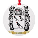 Jeanin Round Ornament