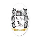 Jeanin Oval Car Magnet