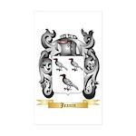 Jeanin Sticker (Rectangle 50 pk)
