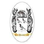 Jeanin Sticker (Oval 50 pk)