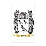 Jeanet Sticker (Rectangle)