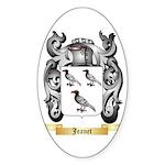 Jeanet Sticker (Oval 50 pk)