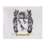 Jeanet Throw Blanket