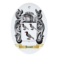 Jeanet Ornament (Oval)