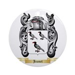Jeanet Ornament (Round)