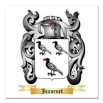 Jeanenet Square Car Magnet 3