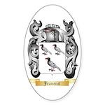 Jeanenet Sticker (Oval 10 pk)