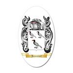 Jeanenet 35x21 Oval Wall Decal