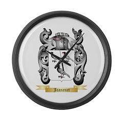 Jeanenet Large Wall Clock