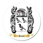 Jeanel Round Car Magnet