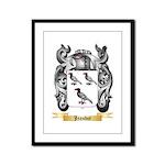 Jeandot Framed Panel Print
