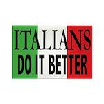Italians Do It Better Rectangle Magnet (10 pack)