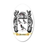 Jeandon 20x12 Oval Wall Decal