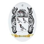 Jeandin Ornament (Oval)