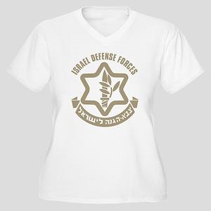 Israel Defense Forces (IDF) Women's Plus Size V-Ne