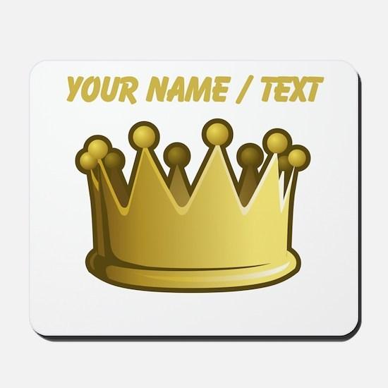 Custom Crown Mousepad