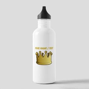 Custom Crown Water Bottle