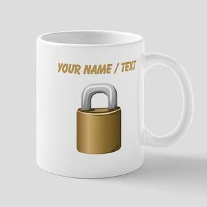 Custom Padlock Mugs