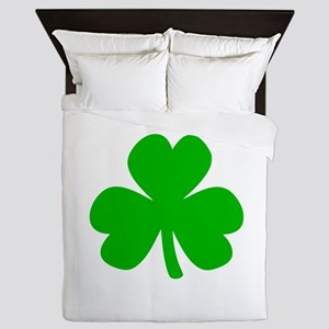 Three Leaf Clover Queen Duvet