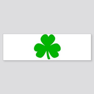 Three Leaf Clover Bumper Sticker