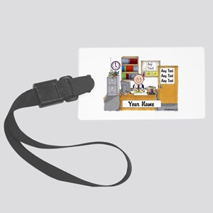 Office, Male Luggage Tag