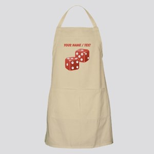 Custom Red Dice Apron