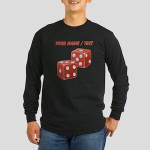 Custom Red Dice Long Sleeve T-Shirt